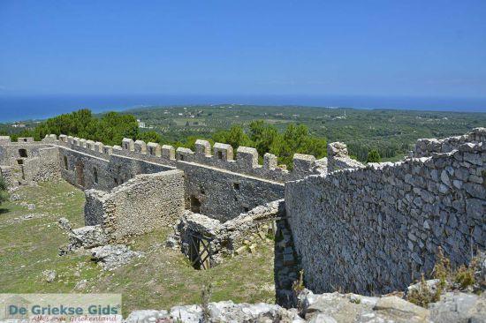 Cheloutsi kasteel Peloponnesos